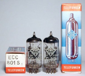 Telefunken Ecc803s   ecc801s new in box